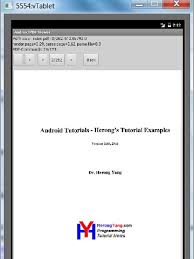 tutorial android pdf copy pdf file to android emulator s file system