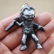 online shop new movie seed of chucky curse of chuck keychain
