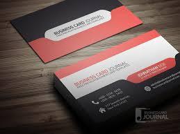 Best Business Card Company Free Stylish U0026 Modern Tab Design Business Card Template Business