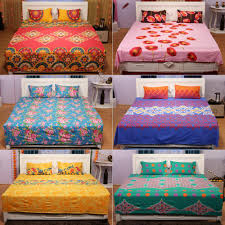 pick any two 100 cotton bedsheets by bella casa bed sheets