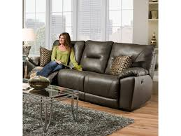 Motion Recliner Sofa by Southern Motion Dynamo Double Reclining Sofa With Pillows For