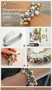 pearl bracelet tutorials images 99 best diy pearl jewelry images beaded jewelry jpg