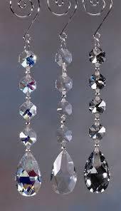 hanging crystals glass honey dew link