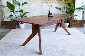 mid century walnut dining table modern dining table walnut brilliant mid century set remodeling 11