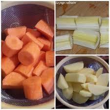 cuisiner palette demi sel potée à la palette de porc demi sel et ses légumes