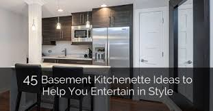 Basement Kitchen Ideas 8 Top Trends In Basement Wet Bar Design For 2017 Home Remodeling