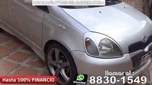 toyota yaris hatchback 2001 manual 5 puertas financio hasta 100