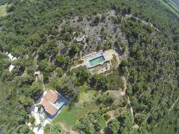 property on sale near fort bregancon and charming beach swimming