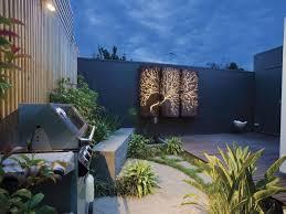 garden feature wall ideas home design