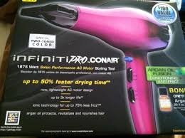 Infiniti Pro Hair Dryer the conair infiniti pro hairdrying is awesome win a conair