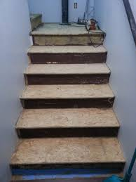 how to makeover osb stairs the created home
