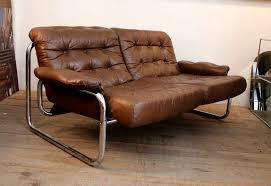 ledersofa vintage look ledersofa braun vintage details zu tango ledersofa braun vintage
