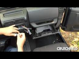 installing the alpine ktp 445 power pack crutchfield video youtube