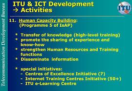 bureau int r telecommunication development bureau itu and ict development trieste