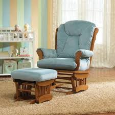 Rocker Cushions Furniture Exciting Nursery Rocking Chair With White Crib And Cozy