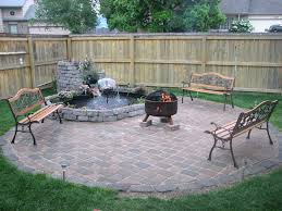 Small Patio Designs With Pavers Patio Ideas Paver Patio With Firepit Ideas Paver Patio Ideas