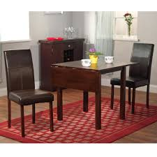 Black Dining Room Chairs Drop Leaf Dining Table Set