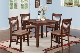 Blue Dining Set by Dining Room Classy Small Dining Room Design With Square Cherry