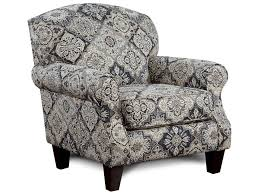 Accent Chair With Arms Fusion Furniture 532 Accent Chair With Rolled Arms Royal