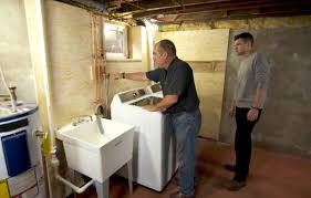 Basement Bathroom Vent Pipe How To Install A Basement Laundry This Old House