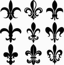 image result for small fleur de lis on wrist just because
