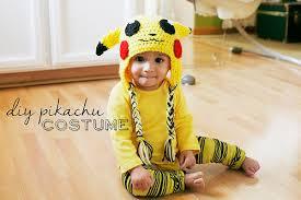 Pikachu Halloween Costume Kids Thrifty Costumes Diy Pikachu Baby Costume