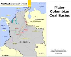 Columbia Map South America by Oil Coal And Economic Development In Colombia Geocurrents