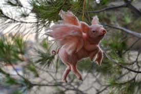 animal tree ornaments lights decoration