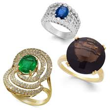 rings with birthstones birthstones by month jewelry guide macy s