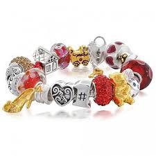bracelet charm gold silver images 925 sterling silver pandora compatible mom beads bracelet jpg