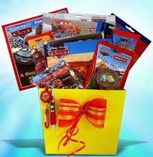 premade easter baskets pre made easter basket for boys disney pixar cars gift set at