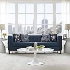 Grey Modern Sofa by Mid Century Modern Sofas Emfurn
