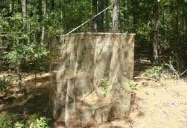 Ground Blinds For Deer Hunting Sensible Survival Build A Portable Blind For Your Deer Stand