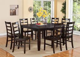 round dining table with leaf seats 8 room table seats 8