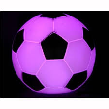 mini luminous light football lamp toy desk decoration evtoys com