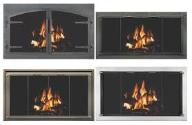 Air Tight Fireplace Doors by Glass Doors Hearth U0026 Home