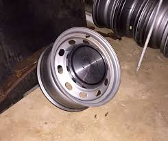 Classic Ford Truck Enthusiasts - is there a trick to install dog dish hubcaps ford truck