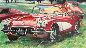 best corvette best corvette artworks for your cave
