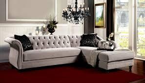 chloe velvet tufted sofa www energywarden net