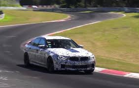 2018 bmw m5 f90 spotted again looks powerful video