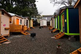 Low Cost Tiny House Tiny House Village Celebrates Anniversary Curbed Seattle