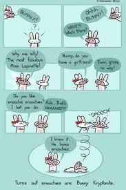 bunny do you like smoochies sebastien millon art u0026 illustration