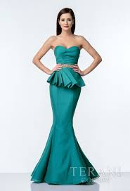 robes de mariã e sirã ne crinkle organza evening gown with sweetheart neckline pleated
