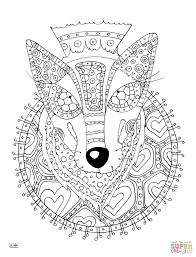 fancy plush design zentangle coloring pages 224 coloring