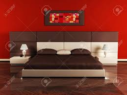 Nice Bedroom Modern Interior Design Of Bedroom With A Nice Bed And A Table