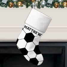 ball pattern personalized christmas stocking