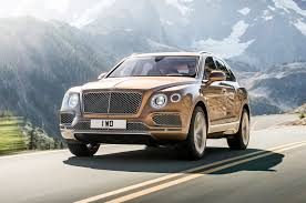 bentley turbo r for sale 2017 bentley bentayga one week review automobile magazine
