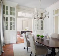 built in cabinet dining room traditional decorating ideas with