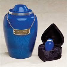 funeral urns for sale cremation urns cobalt blue metal funeral urn
