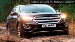 used lexus suv for sale in uk ford edge now in uk first rhd market for the suv youtube
